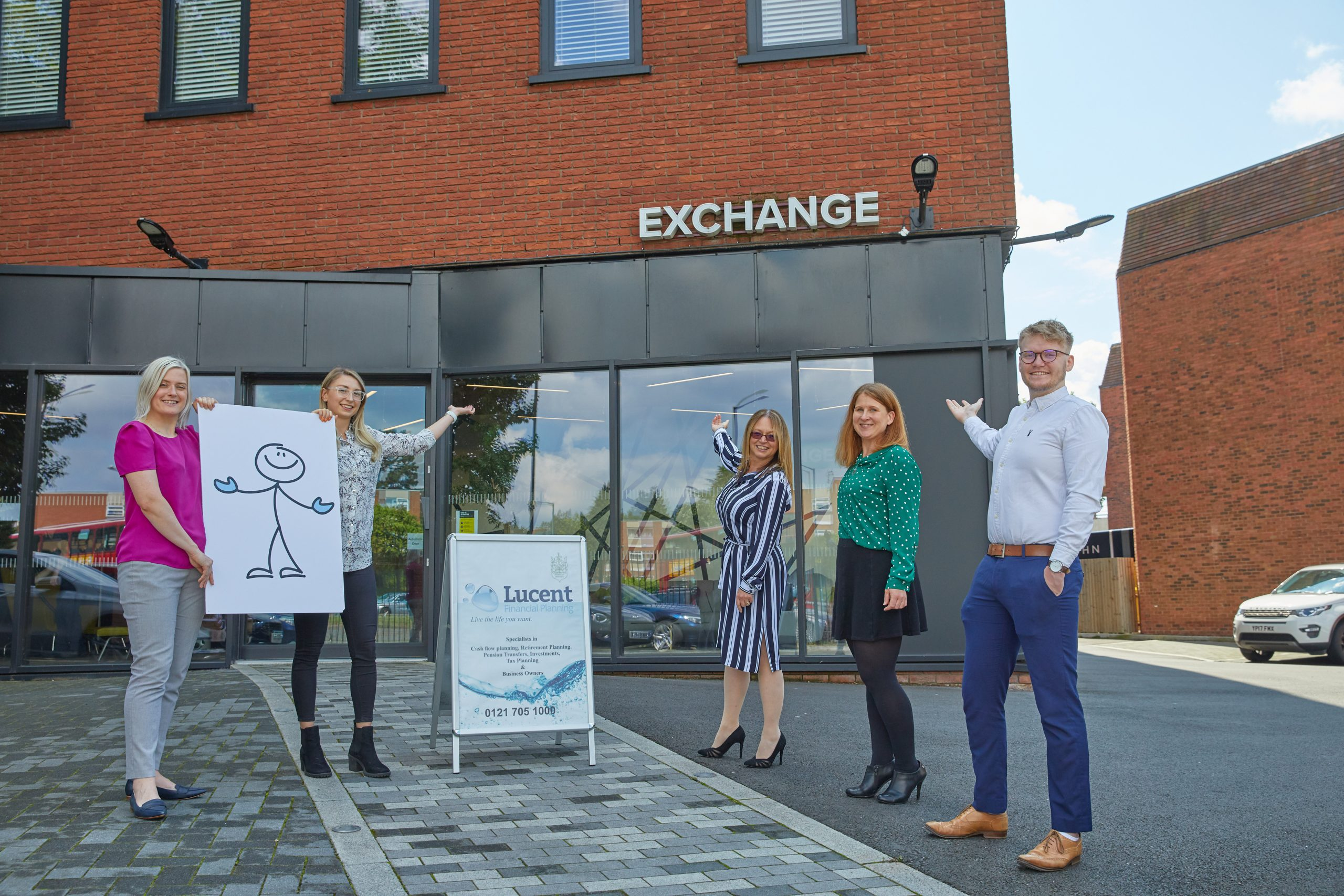Lucent team welcome you to The Exchange